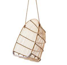 Fauteuil suspendu rotin et fibre synth�tique Holly Sika Design