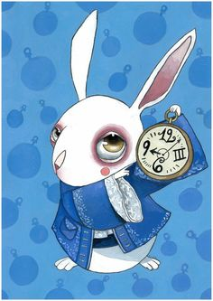 White Rabbit by ~KaterinaChadoulou on deviantART
