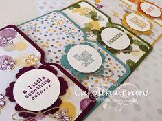 Carolina Evans - Stampin' Up! Demonstrator, Melbourne Australia: A walk down Memory Lane - Designer Series Paper 2015 Retiring Products
