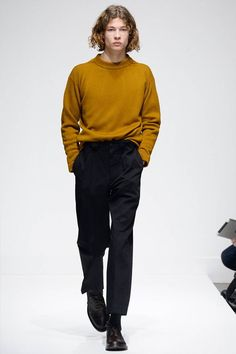Margaret Howell Fall/Winter 2016/17 - London Collections: MEN - Male Fashion Trends