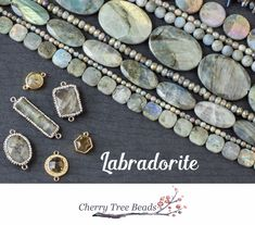Your source for Labradorite beads at great wholesale prices Jewelry Tools, Jewelry Findings, Jewelry Crafts, Jewelry Design, Jewelry Ideas, Homemade Jewelry, Diy Jewelry Making, Jewelry Making Supplies, Wire Wrapped Jewelry
