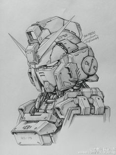 GUNDAM GUY: Awesome Gundam Sketches by VickiDrawing [Updated 9/22/15]