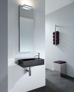 decor walther - Google Zoeken Washroom, Kitchen And Bath, Decoration, Powder Room, Sweet Home, Vanity, Shower, Interior Design, Mirror