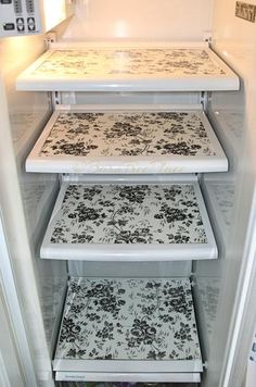 Diy & Hacks for The Dollar Store Contact Paper. Introducing new ways to use contact paper, other than lining the drawers and pantry shelves. Repurpose contact paper by making stencils, stickers, embellishments and even introducing a Refrigerator makeover!