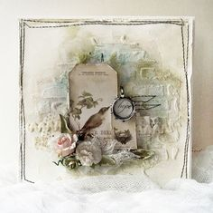 Hope - Pion; A Day in May - greeting card by Minna Paajanen would also make a nice page lo