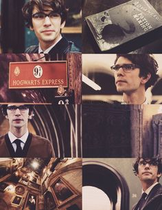 spellboundmuggle:  Harry Potter Next Generation Dreamcast:  Ben Whishaw as James Sirius Potter