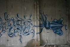 Sea monster graffiti | Flickr - Photo Sharing!