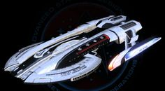 USS Armitage NCC 97300.  #StarTrek