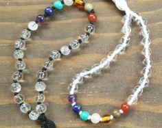 Buddhist Mala Bracelet Set Yoga Bracelets Yoga Jewelry by HVart