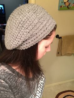 Slouched beanie by CraftyDiva23 on Etsy