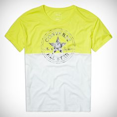 #Camiseta #Colorblock #Chuck #Patch #mujer #multicolor #fresh #yellow #circulogpr