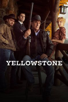 John Dutton deals with contentious conflicts within his family, along with outside battles with land developers and an Indian reservation as he attempts to maintain control of his ranch. Movies Showing, Movies And Tv Shows, Yellowstone Series, Kelly Reilly, Best Dramas, Cowboy Up, Kevin Costner, Tv Times, My Escape