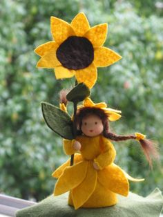 Weiteres - Blumenkind SONNENBLUME Jahreszeitentisch - ein Designerstück von Blumenkind012 bei DaWanda