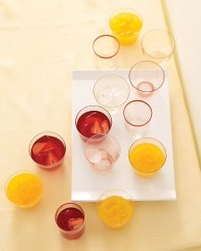 Juicy strawberries and floral hibiscus create a new jewel-toned spin on the Arnold Palmer -- a mix of tea and lemonade.