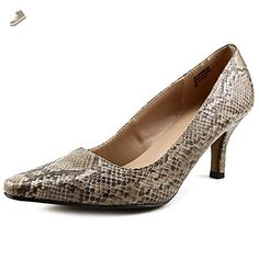 Karen Scott Women's Clancy Pointed Toe Pumps, Grey, Size 9.5 - Karen scott pumps for women (*Amazon Partner-Link)