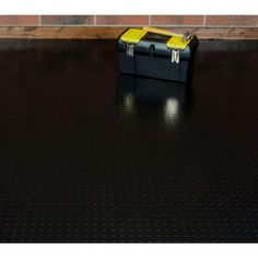Coin Commercial Grade Slate Grey Cover And Protector Garage Flooring