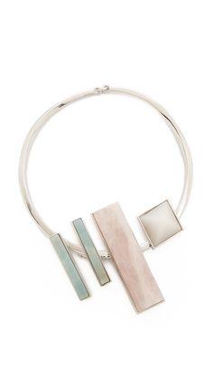 Eddie Borgo Composition Collar