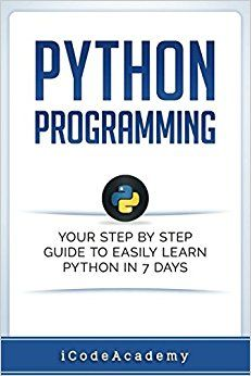 Step by step guide to learn python in 7 days #affiliate