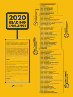 The 2020 Christian Reading Challenge - Tim Challies Reading Goals, Happy Reading, Reading Lists, Book Lists, Reading Habits, Book Challenge, Reading Challenge, Any Book, Learn To Love