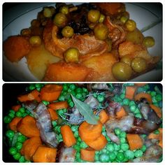 Le blog de Cata: Petits pois carottes à la sauce tomates