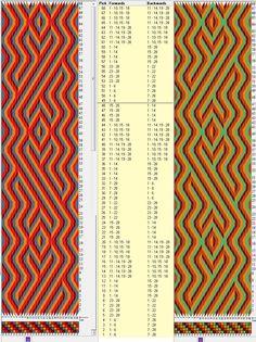 28 tarjetas, 4 colores, repite cada 48 movimientos - fondo ⇆ figura // sed_290 diseñado en GTT༺❁