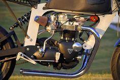 "Custom 1967 Triumph Bonneville ""Bucephalus"" Loaded Gun Customs"