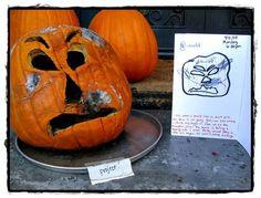 pumpkin crafts and rotting pumpkin science activities