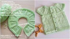 0-4 Aylık Bebek Yeleği Roba Sayıları ve Yapılışı