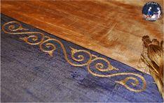 XI-XII century - Rus - silk embroidery
