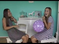 TRY NOT TO LAUGH HELIUM CHALLENGE - NINA HOUSTON - YouTube