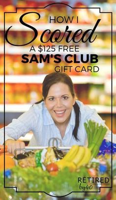 Still on the fence about Swagbucks? Here's a quick victory story: a $125 Free Sam's Club Gift card in just one month - without lifting a finger! - Retired by 40!