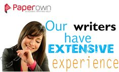 Paperown expert #writers not only provide a ready-to- go #thesis, they will use their words to bring the idea to life, leaving your teacher and professors in no doubt of as to the validity of your #thesis - it's a skill only legit writers can produce. Our best quality #dissertationwritingservice dedicates itself to get you excellent grades for your final project. We employ only #PhD and #Masters qualified #dissertationwriters to provide a quality #dissertationwritingservice.