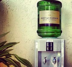 Moët and Chandon water cooler