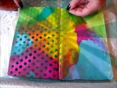 Mixed Media Art Journal Page #2