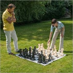Giant 43cm Garden Chess