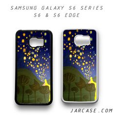 tangled floating light Phone case for samsung galaxy S6 & S6 EDGE