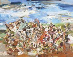 Cecily Brown, New Bunnies (El Greco), 2001.
