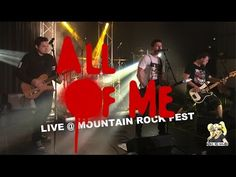All Of Me Live @ Mountain Rock Fest Rock Festivals, My Live, Mountain, The Unit, Guys, Concert, Music, Movie Posters, Ninjas