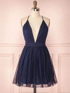 A Line V Neck Navy Blue Short Prom Dresses, Navy Blue Homecoming Dresses Customized service and Rush order are available. A Line V Neck Navy Blue Short Prom Dresses, Navy Blue Homecoming Dresses Hoco Dresses, Tulle Prom Dress, Little Dresses, Dance Dresses, Pretty Dresses, Short Formal Dresses, Mini Dresses, Casual Dresses, Wedding Dresses