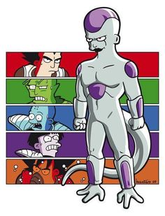DBZ meets Futurama