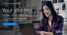 Get the hands-on cloud experience you need with free product trials and tools. Try Microsoft Cloud Essentials: http://msft.social/2xpZvx #bitLife
