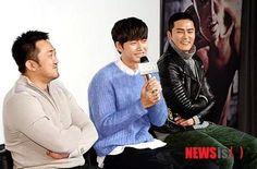 #parkhaejin in #badguys fanmeeting <3 with #jodonghyuk #madongsuk