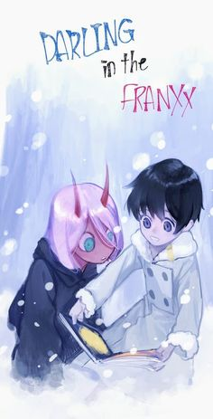 Zero Two x Hiro - Darling in the FranXX #GG #anime