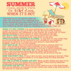 Summer Cool-Down Tips to Stay Cool When It's Hot Visit our website: http://www.alkalux.com
