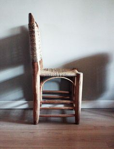 Wood chair by UNUNODESIGN on Etsy, €50.00