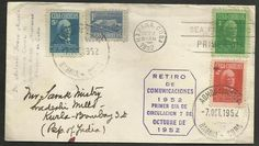 Cuba a India Sobre 1952