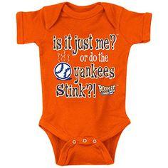 New York Mets Fans. Is it Just Me? Orange Onesie (NB-18M) or Toddler Tee (2T-4T)
