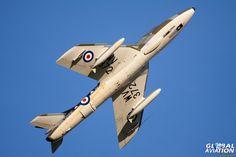 Graham Peacock's Hawker Hunter T7 WV372