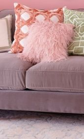 Billowing with layers of feathered pizzazz, our Ostrich Feather Decorative Pillow blossoms with personality.