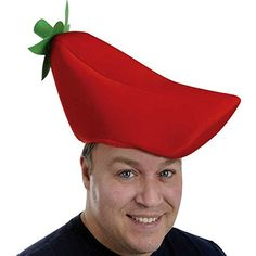 Plush Chili Pepper Hat Party Accessory (1 count) (1/Pkg) Unknown http://www.amazon.com/dp/B003HD01N8/ref=cm_sw_r_pi_dp_z6WPwb11S39EM